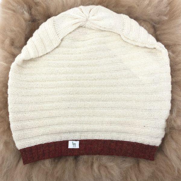 Mütze MARIA, Rippenstrick
