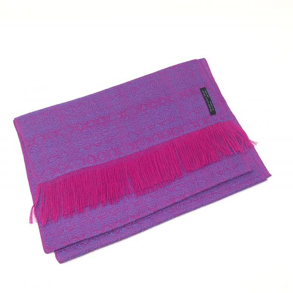 Schal Muster mit Seide