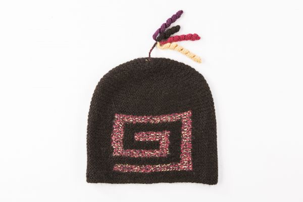 Mütze Geraldina 100% Alpaka Wolle Handarbeit