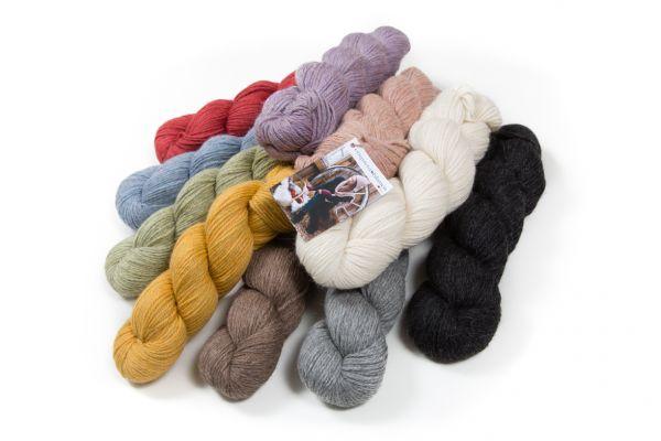Wolle aus Baby Alpaka Woller 10er Pack