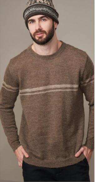 Herren Pullover JAN mit rundem Ausschnitt