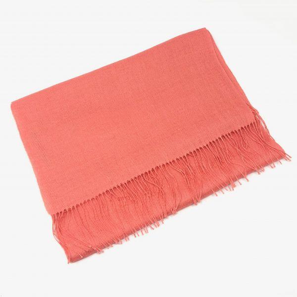 Schal Uni mit Seide
