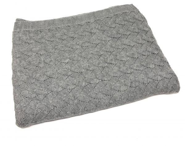 Decke mit Blättermuster