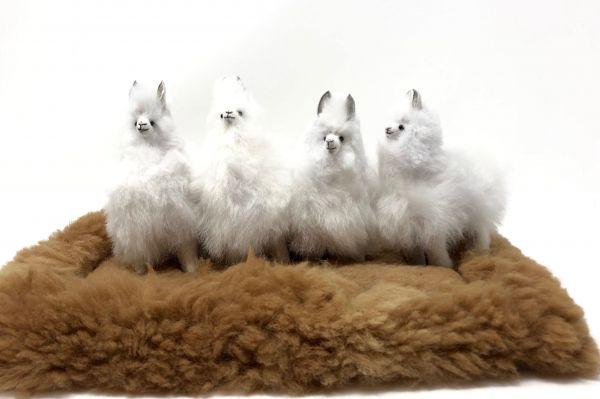 Alpaka Stofftier HUACAYA 12 cm